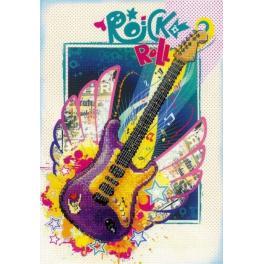 Vyšívací sada - Rock & Roll