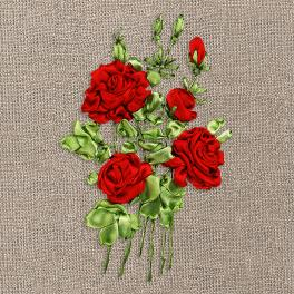 Sada se stuhami - Růže