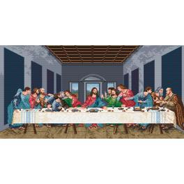 Předtištěná kanava - Poslední večeře - L. da Vinci