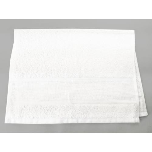 918-01 Ručník frotté bílý 40x60 cm