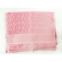 Ručník frotté růžový 40x60 cm