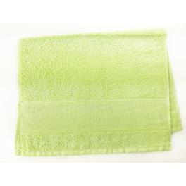 Ručník frotté světlé zelená 40x60 cm