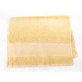 Ručník frotté žlutý 40x60 cm