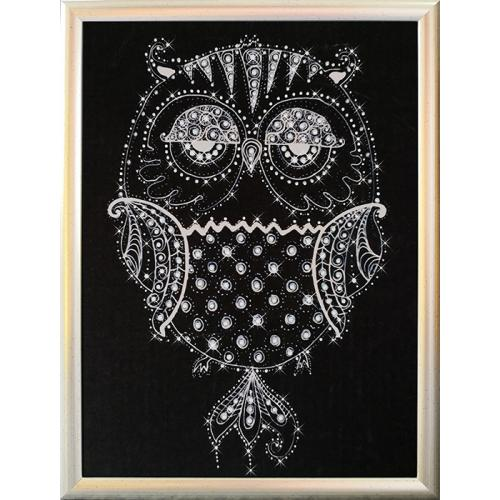 Diamond painting sada - Diamond owl