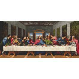 Předtištěná aida - Poslední večeře - L. da Vinci