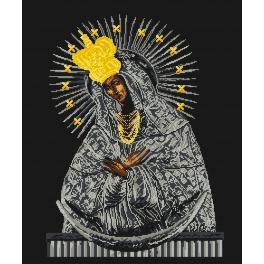 Předtištěná kanava - Matka boží ostrobramská