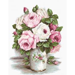 Vyšívací sada - Růže