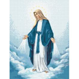 Předtištěná kanava - Panna Marie Neposkvrněného početí