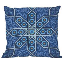 Předloha - Polštář v marockém stylu II