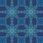 Vyšívací sada - Ubrus v marockém stylu II