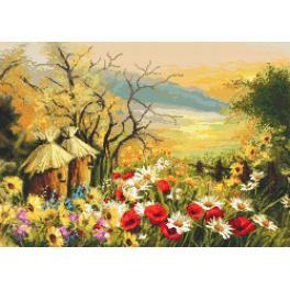 GC 10133 Předloha - Zahrádka s úly