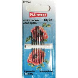 Jehly na vyšívání- Nahwelt (18-22)