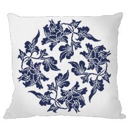 Předloha - Polštář - Čínský porcelán I