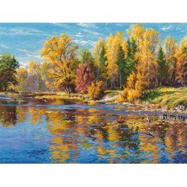 Vyšívací sada - Podzim