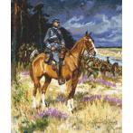 Vyšívací sada - Voják na koni