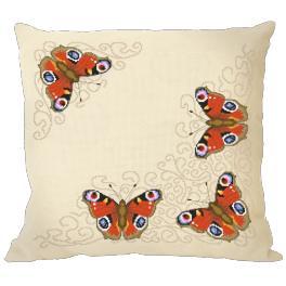 Předloha online - Polštář s motýly