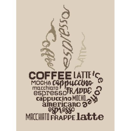 GC 8921 Předloha - Cup of coffee