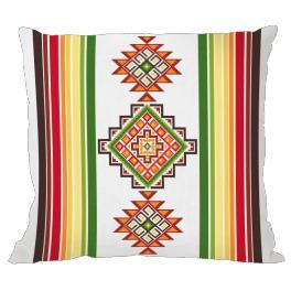 Předloha - Polštář v mexickém stylu I