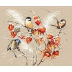 Vyšívací sada - Ptačí ráj