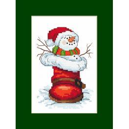 Předloha on line - Přání se sněhulákem
