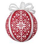 W 8945 Předloha on line - Skandinávské vánoční koule