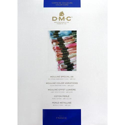 AC W100TC Šablona barev firmy DMC