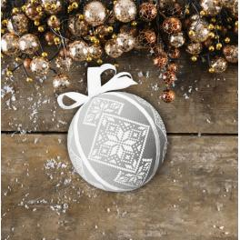 ZU 8952 Vyšívací sada - Fantastická vánoční koula