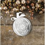 Vyšívací sada - Fantastická vánoční koula