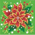 RIO AM0019 Diamond painting sada - Vánoční hvězda