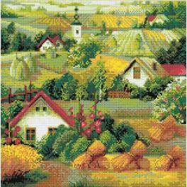 Diamond painting sada - Srbská krajina