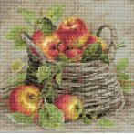 Diamond painting sada - Zralá jablka