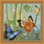 Vyšívací sada - Motýli