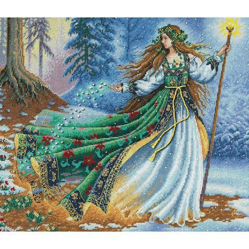 DIM 35173 Vyšívací sada - Čarodějka z lesa