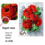 ZTDE 309 Diamond painting sada - Elegantní růže