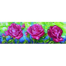 Diamond painting sada - Tři růže