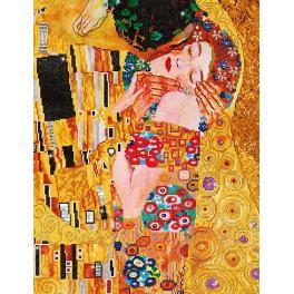 Diamond painting sada - Polibek - G.Klimt