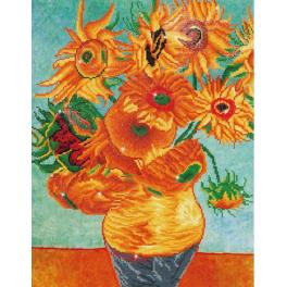 Diamond painting sada - Slunečnice - V.van Gogh