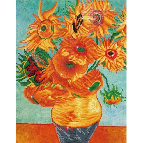 DD13.011 Diamond painting sada - Slunečnice - V.van Gogh