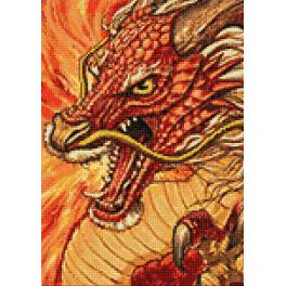 Diamond painting sada - Čínský drak