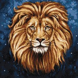 Diamond painting sada - Hvězdný lev