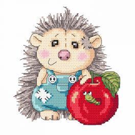 Vyšívací sada - Roztomilý ježeček