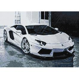 WD254 Diamond painting sada - Lambo