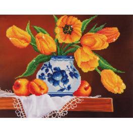 Diamond painting sada - Žluté tulipány