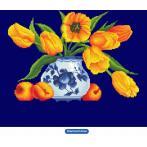 DD9.004 Diamond painting sada - Žluté tulipány