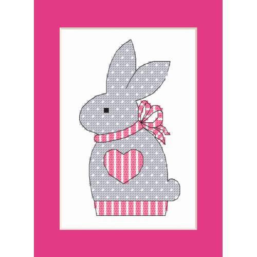 W 10204-02 Předloha ONLINE pdf - Přání s králíčkem
