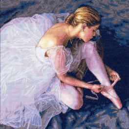 Vyšívací sada - Půvab baletky