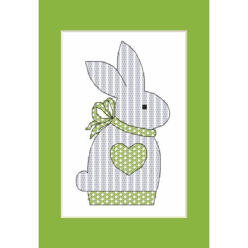 W 10204-01 Předloha ONLINE pdf - Přání s králíčkem