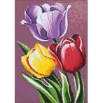 WD021 Diamond painting sada - Vonící tulipány