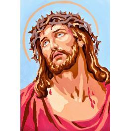 Diamond painting sada - Ježíš Kristus
