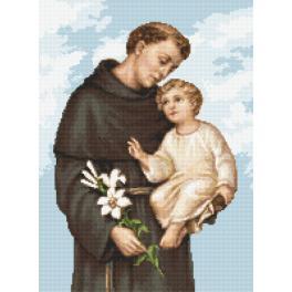 Předtištěná aida - Svatý Antonín